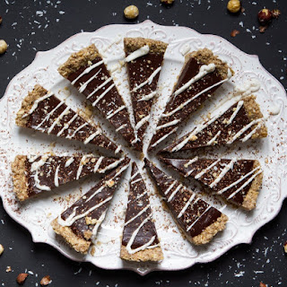 Angela Liddon's Chilled Chocolate-Espresso Torte with Toasted Hazelnut Crust, from THE OH SHE GLOWS COOKBOOK