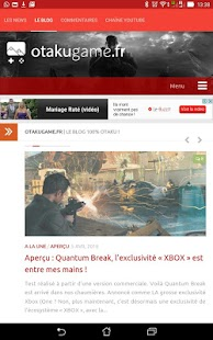 Otakugame.fr- screenshot thumbnail