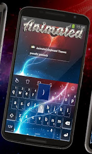 Download War galaxy Keyboard Animated Free