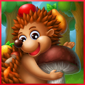 Hedgehog's Adventures: Story with Logic Games Free icon