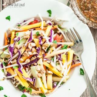 Crunchy Thai Salad Recipe