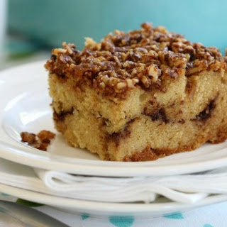 Grain Free Cinnamon Crumb Coffee Cake