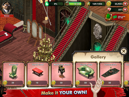 Addams Family: Mystery Mansion - The Horror House! filehippodl screenshot 15