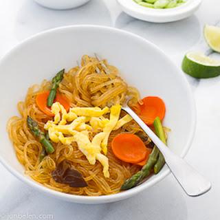 How to Make Sotanghon Guisado (Fried Mung Bean Noodles).