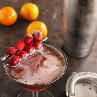Cranberry Orange Rye Manhattan