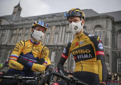 """Jumbo-Visma doet met renner minder voort in Dauphiné na val: """"Iedereen lijkt zich te willen bewijzen voor de Tour"""""""