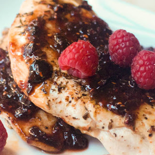 Balsamic-Raspberry Chicken