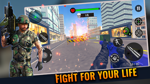 Modern FPS Counter Agent Action Shooter Free Games 1.7 screenshots 1