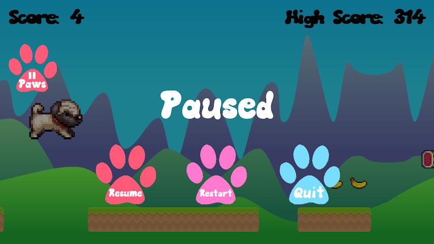 android Pug Run Screenshot 3