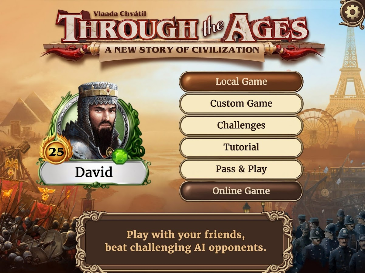 Through the Ages- screenshot