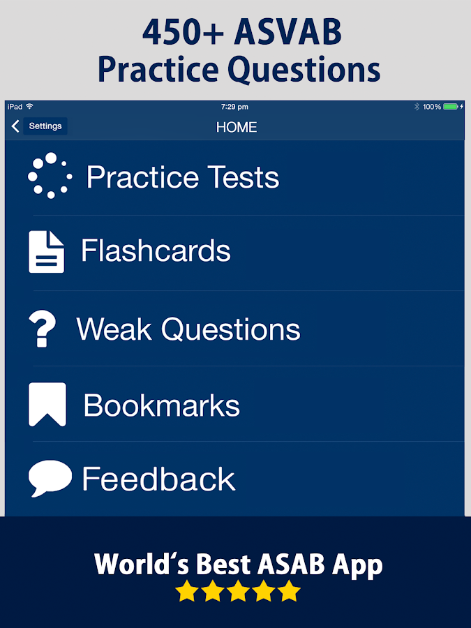 asvab practice test screenshot cna sample questions
