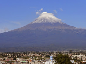 Photo: Popocatépetl