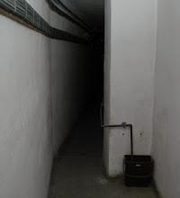 Photo: Mørke, hemmelighedsfulde gange i fortets indre