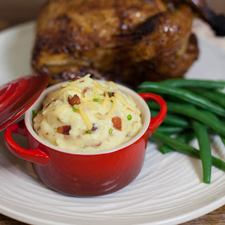 Bacon and Gouda Mashed Potatoes