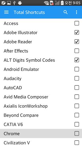 Total Shortcuts