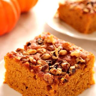 Snickerdoodle Pumpkin Cake