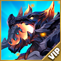 DragonFly: Idle games - Merge Epic Dragons (VIP) icon
