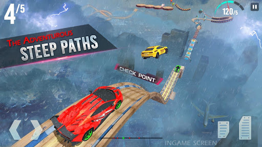 Mega Ramp Race - Extreme Car Racing New Games 2020 apkmind screenshots 5