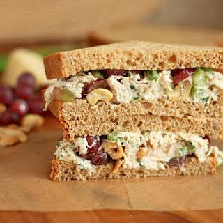Dill Chicken Salad Sandwiches.