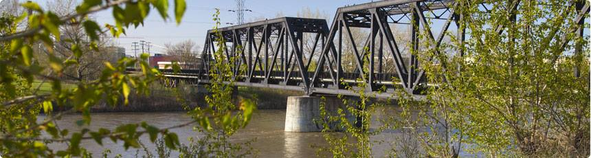 CN Train Bridge