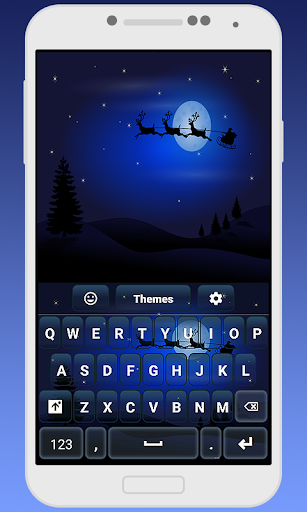 Santa Keyboard Theme