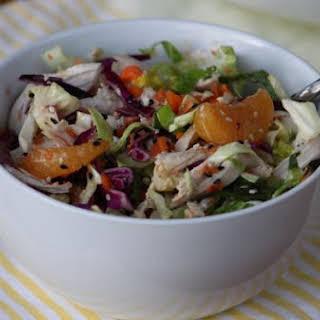 Gluten Free Dairy Free Sugar Free Chinese Chicken Salad.