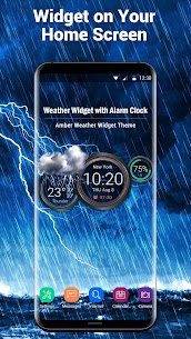 Weather Widget with Alarm Clock 2