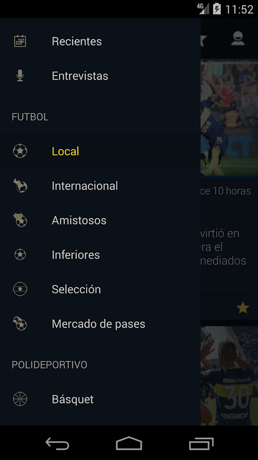 Planeta Boca Juniors- screenshot