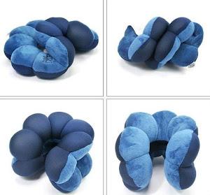 Set 2 perne modelabile pentru calatorii sau relaxare acasa - Total Pillow