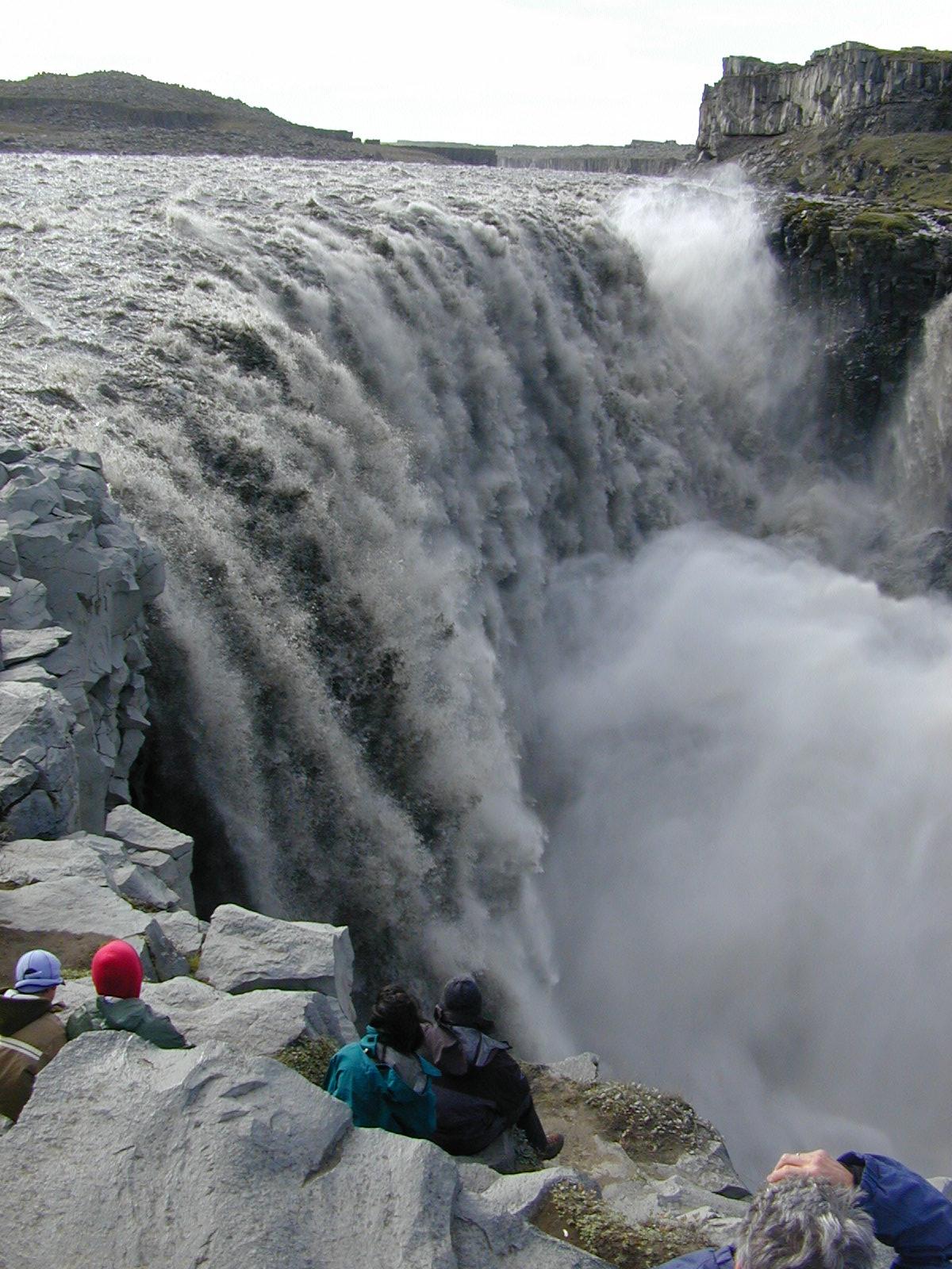 Photo: Dettifoss, Islanda. 5 settembre 2003 (© Paolo Cortini) www.90est.it