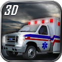Ambulance Transport Parking 3D icon