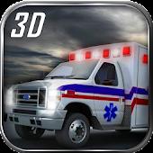Ambulance Transport Parking 3D
