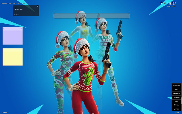 Christmas Fortnite Skins 2020 Fortnite Christmas Skins Wallpapers