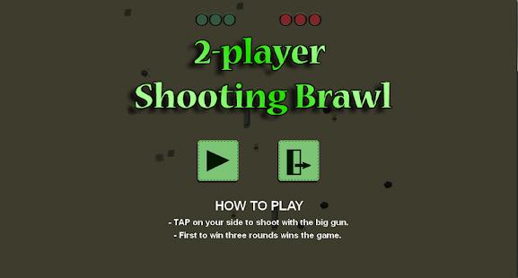 2-player Shooting Brawl - náhled