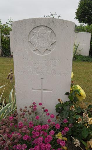 James Joseph McHugh grave