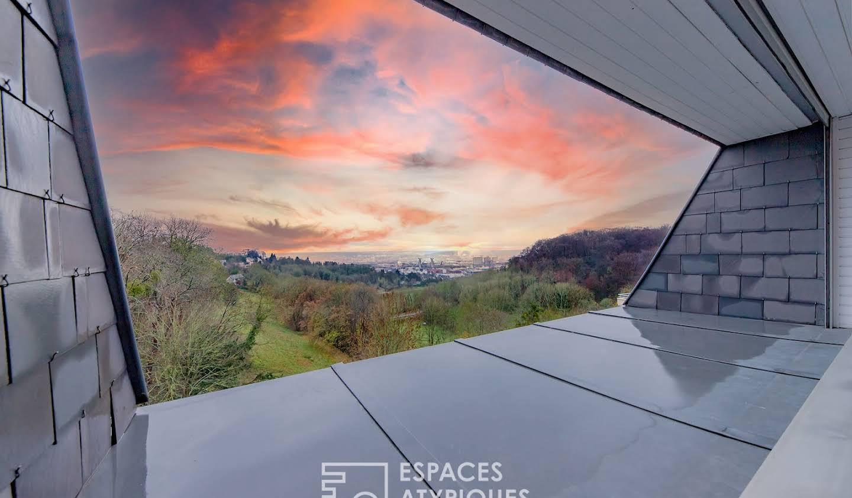 Apartment with terrace Mont-Saint-Aignan