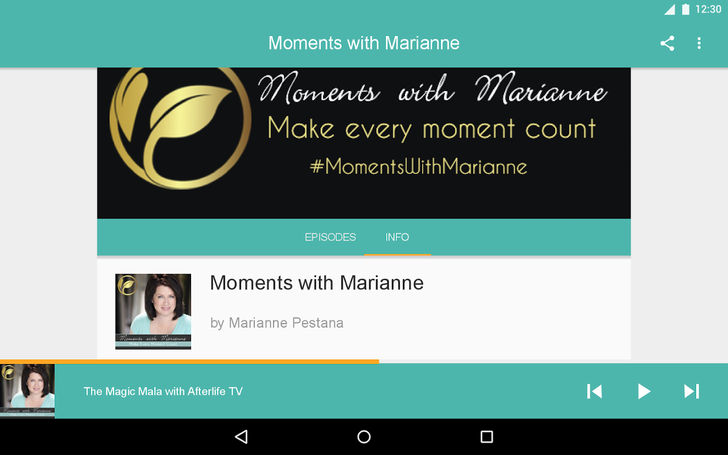 Moments with Marianne- screenshot