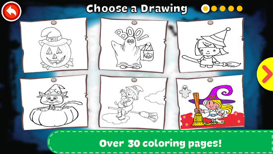 Halloween Coloring Book - Android Apps on Google Play