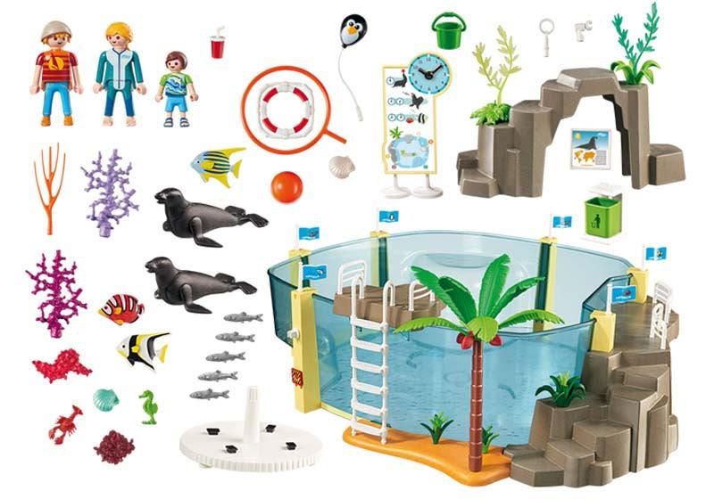 Contenido real de Playmobil® 9060 Acuario