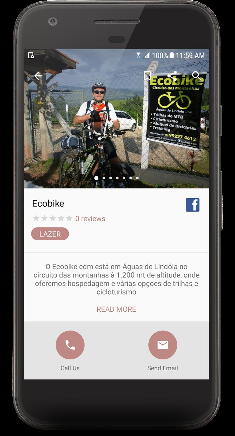 Скриншот Turismo Aguas de Lindoia