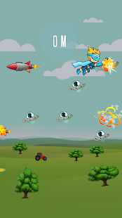 Super Heroes vs Alien Invaders- screenshot thumbnail