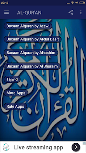 Al-Qur'an Mp3 & Tajwid - náhled