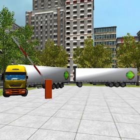 грузовик Стоянка 3D: крайность