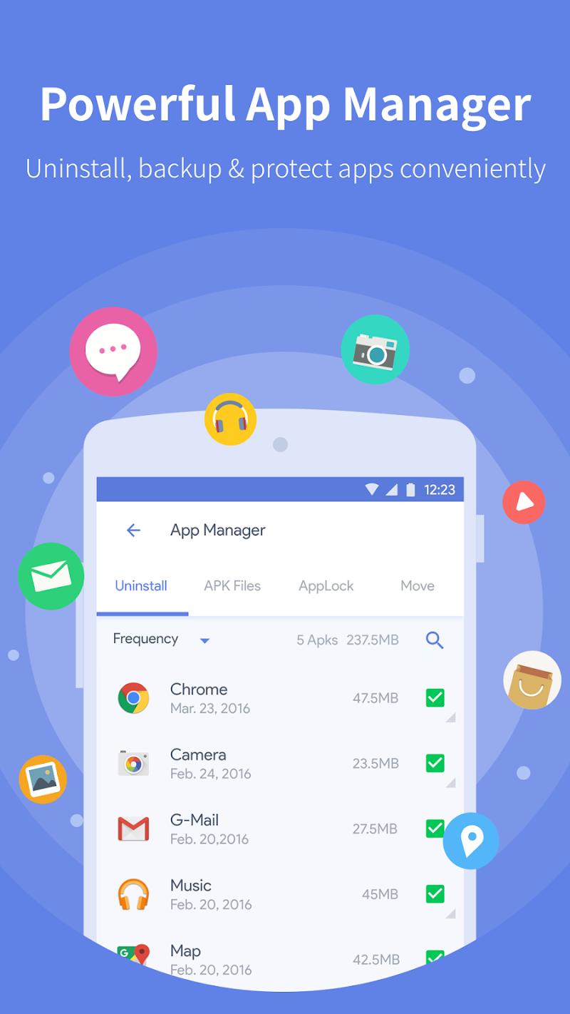 Power Clean - Antivirus & Phone Cleaner App Screenshot 4