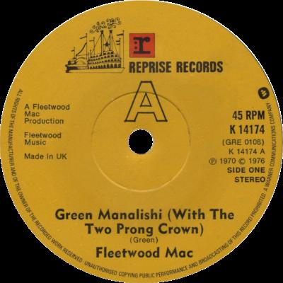 Single: The Green Manalishi