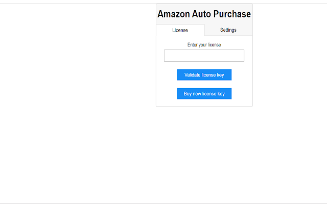 Amazon Auto Purchase