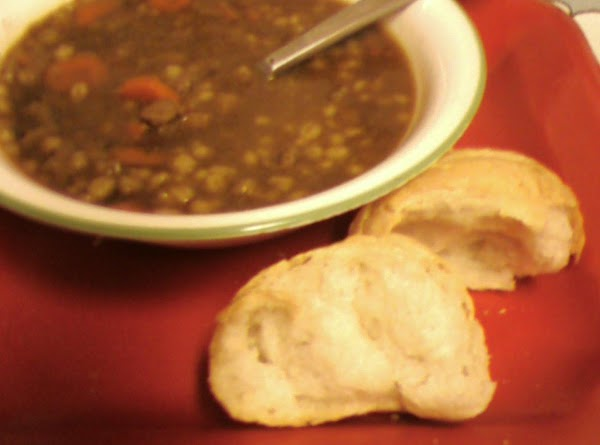 Pam's Beef, Onion And Barley Soup Recipe