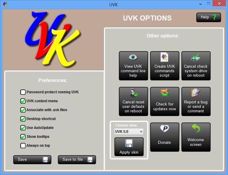 Phần mềm UVK Ultra Virus Killer
