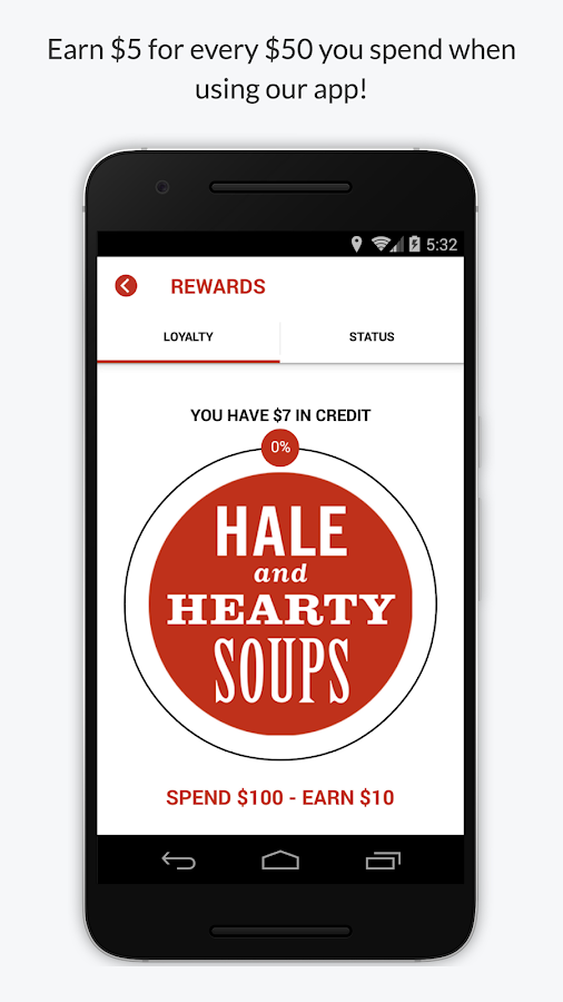 Hale and Hearty- screenshot