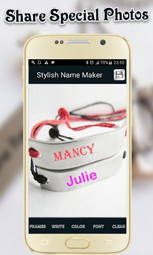 Stylish Name Maker 2017 screenshot